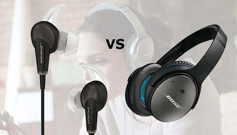 bose quietcomfort 20 vs 25
